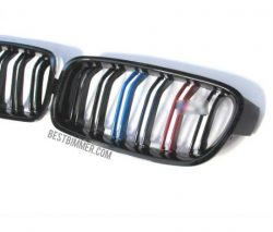 Grill BMW F30 Shiny Black Model M Color Include Dengan Emblem M3 (Double Slats)