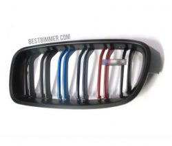 Grill BMW F30 Matte Black Include Dengan Emblem M3 Model M Color (Double Slats)