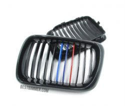 Grill BMW E36 Facelift Th. 1997-1999 Shiny Black Model M Color
