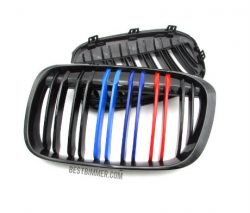 Grill BMW F48(X1) Shiny Black Model M Color (Double Slats)