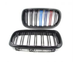 Grill BMW Shiny Black Model M Color (Double Slats)
