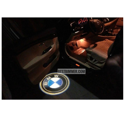 3D Door LED Logo BMW Berwarna Untuk BMW E90, E91, E92, E93, E60, E61 Th. 2004-2009, F10 Th. 2011-UP