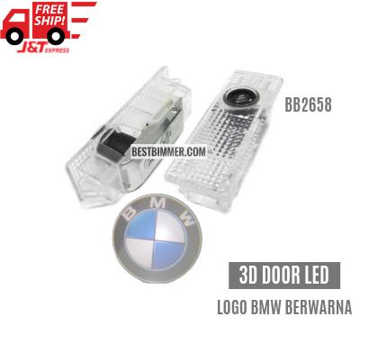 3D Door LED Logo BMW Untuk BMW E81, E87, E87N, E88, E90, E92, E93, E60, E60N, E61, E61N, F10, E63, E63N, E64, E64N, E65, E66, E67, E68, F01, F02, X5 E70, X6 E71, X3 E83, X1 E84, E85, E86