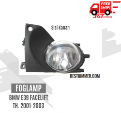 Foglamp BMW E39 Facelift Th. 2001-2003 - Sisi Kanan