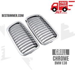 Grill Chrome BMW E38 Th. 1999-2002