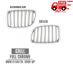 Grill Full Chrome BMW X1 E84 Th. 2009 - UP