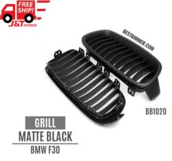 Grill Matte Black BMW F30