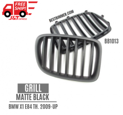 Grill Matte Black BMW X1 E84 Th. 2009 - UP