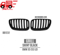 Grill Shiny Black BMW X5 E53 LCI Th. 2004-2006