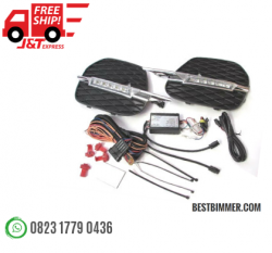LED DRL BMW X5 E70 Th. 2010-UP