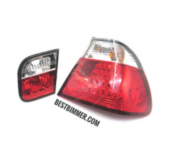 Stoplamp BMW E46 Facelift Th. 2002-2005 Red & Clear