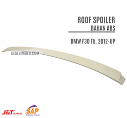 Roof Spoiler Bahan ABS BMW F30 Th. 2012-UP