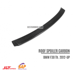 Roof Spoiler Carbon BMW F30 Th. 2012-UP